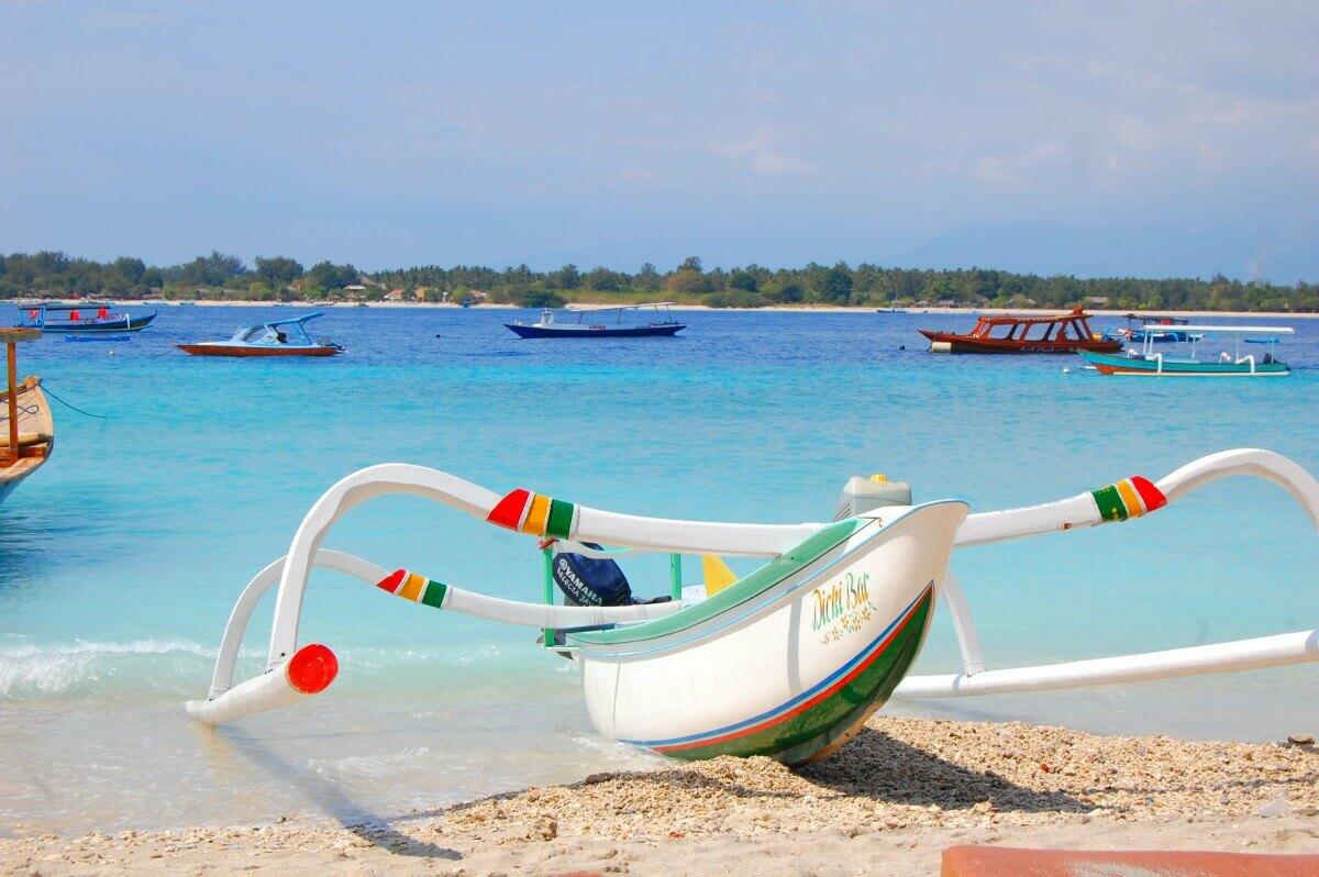 Gili T Boat