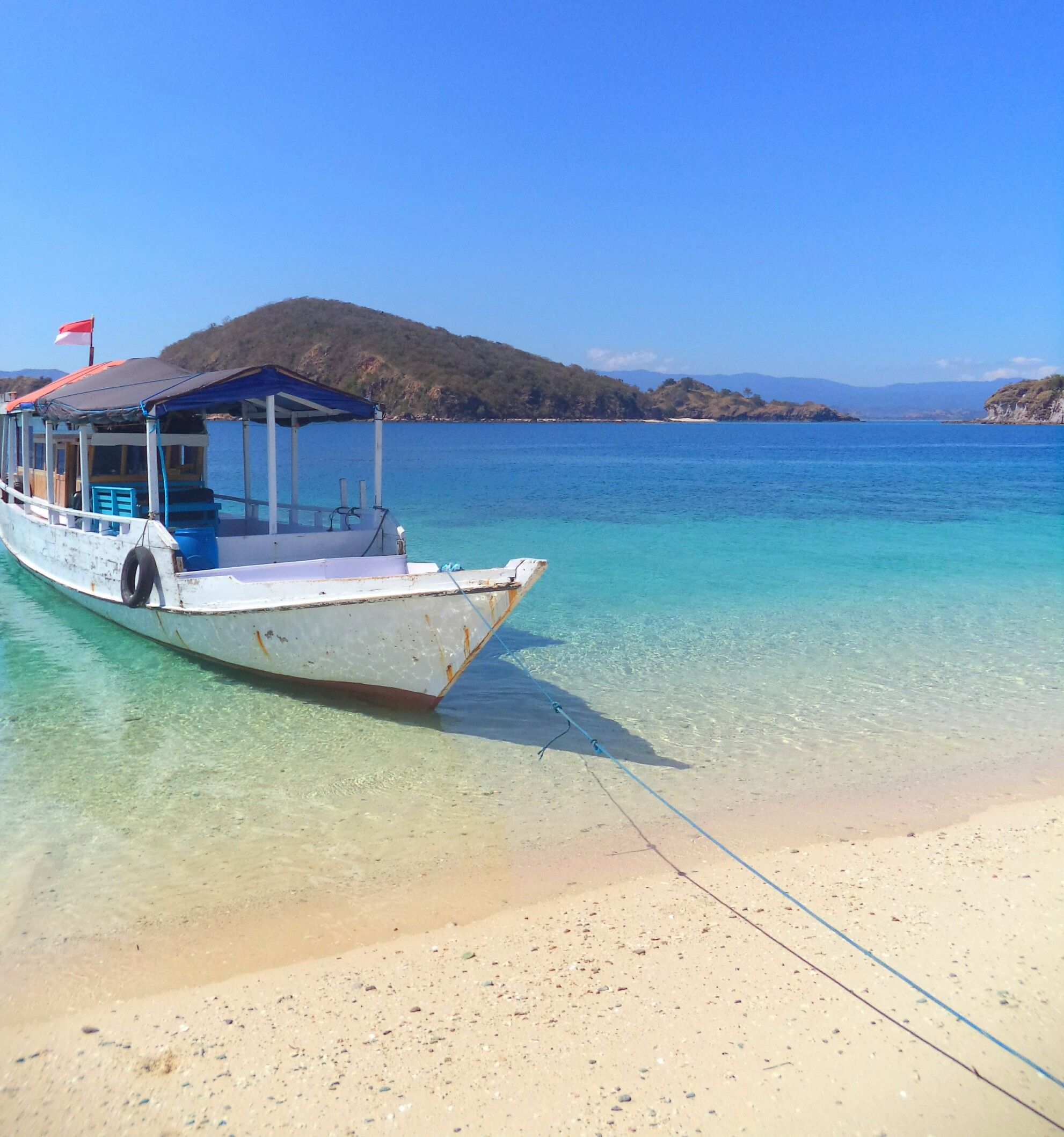 Komodo-Nationalpark Boat