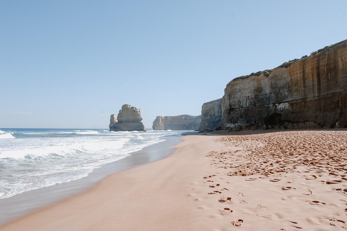 Strand an der Grat Ocean Road