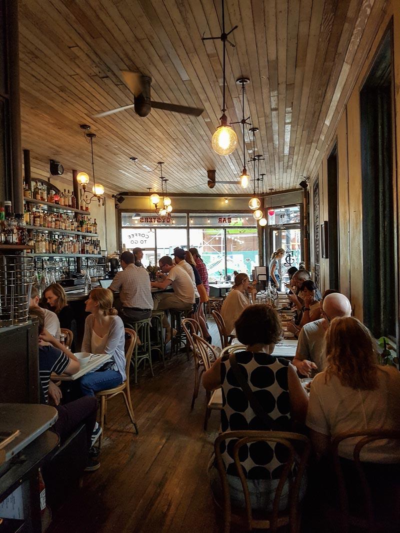 Five Leaves Café Williamsburg