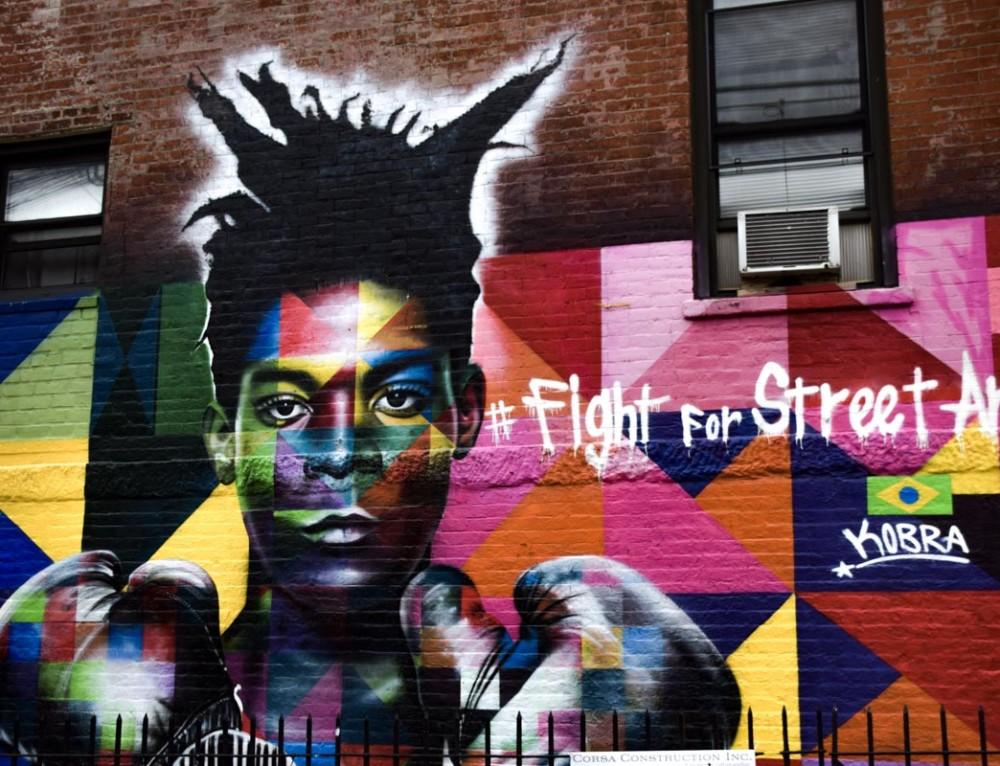 Street Art in Williamsburg «oder: Wir lieben Kreativität»