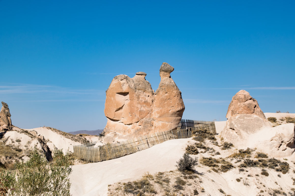 Camel Rock, Göreme, Kappadokien
