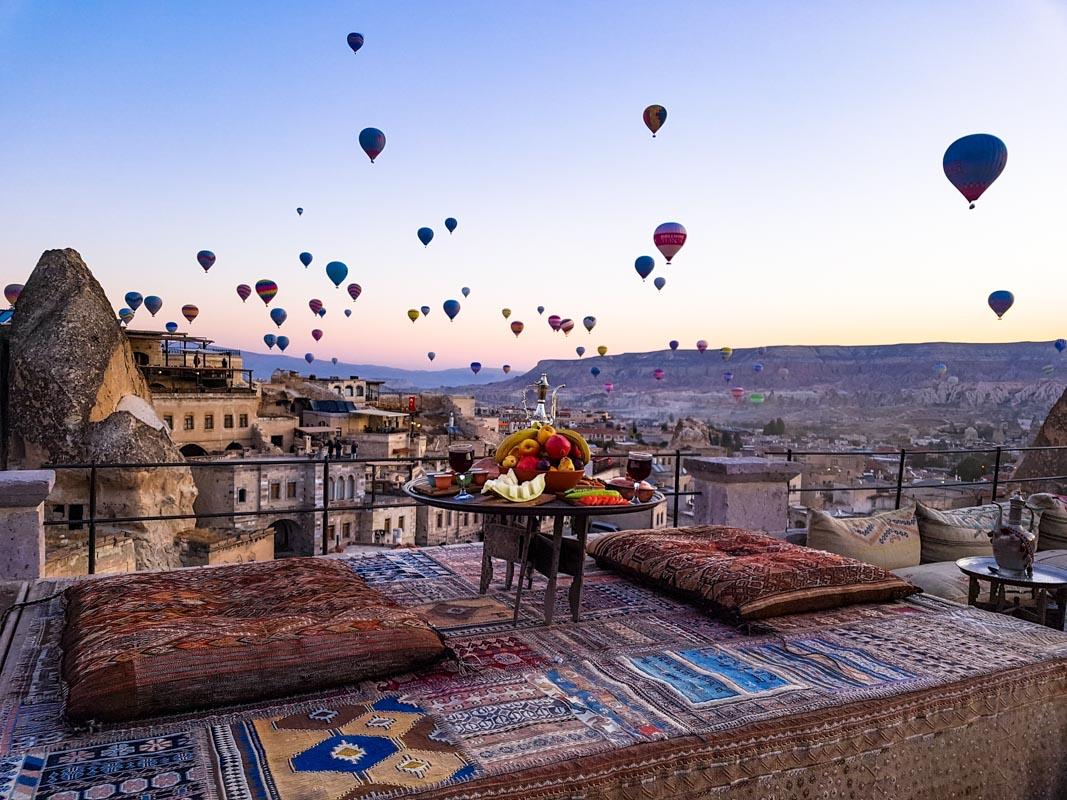 5 Tage in Göreme, Kappadokien  «oder: Im Land der Heißluft-ballons und Feenkamine»