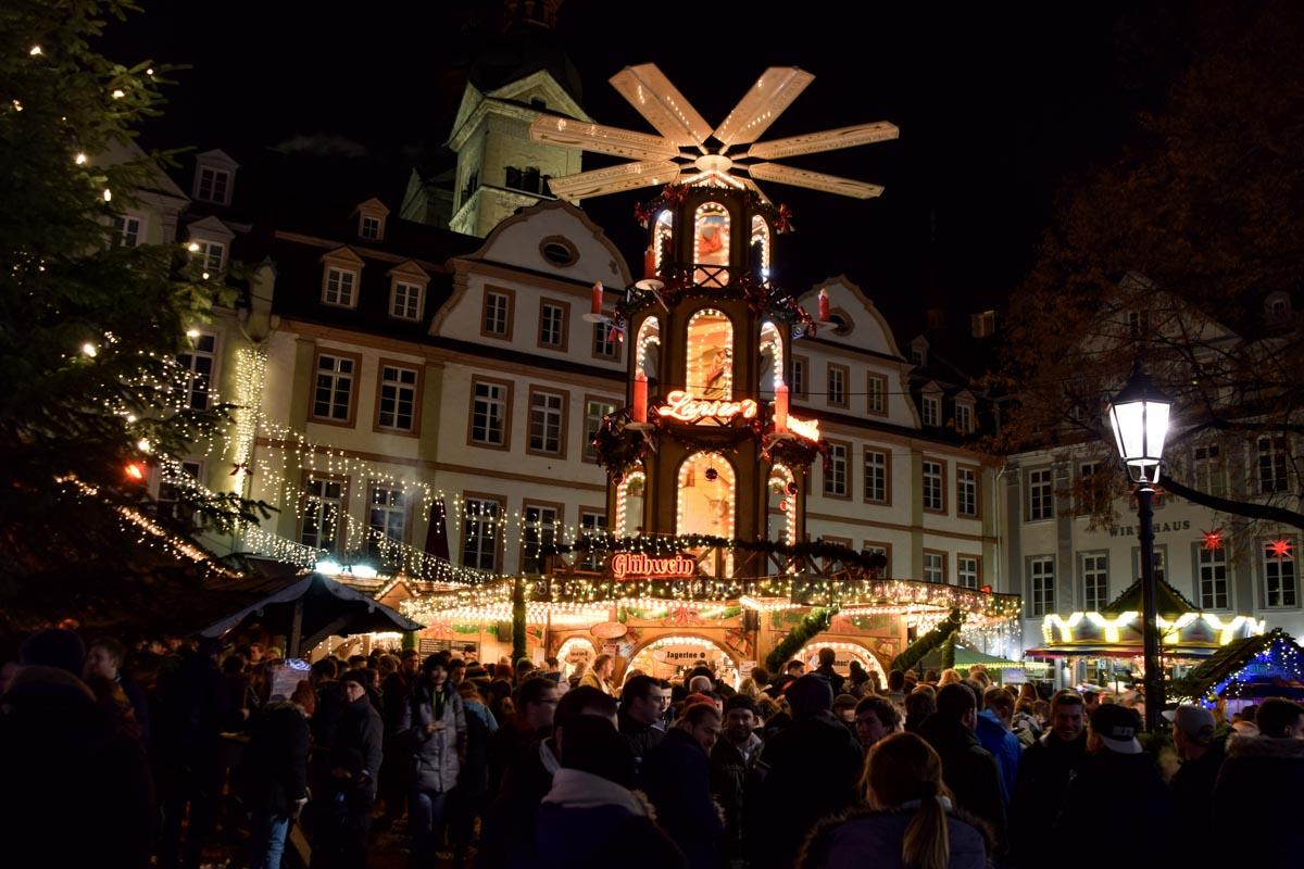 Ein Wochenende in Koblenz, Weihnachtsmarkt