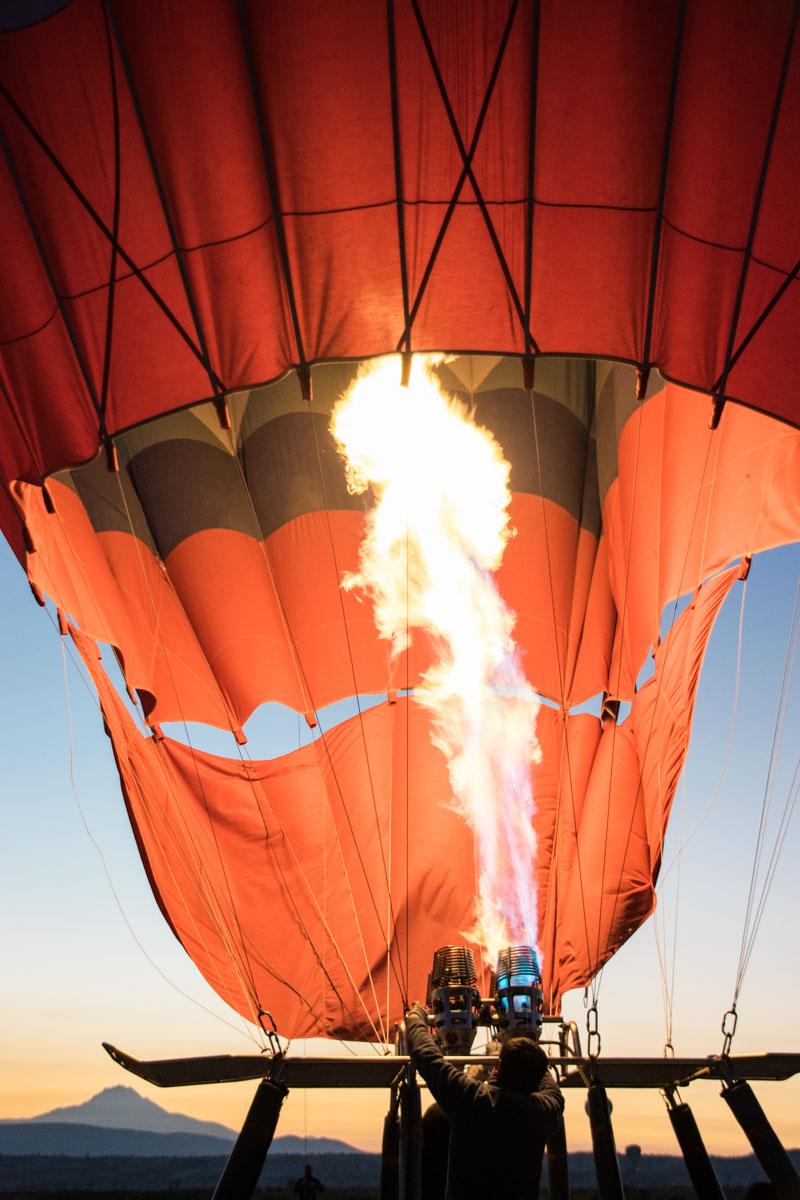 Heißluftballon Kappadokien