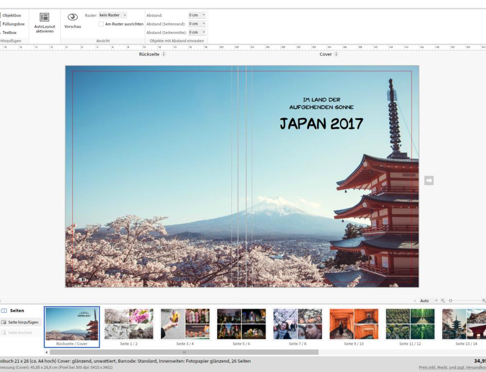 In 5 Schritten zum Fotobuch von Saal Digital  «oder: Die schönsten Erinnerungen für dein Bücherregal» [Werbung]