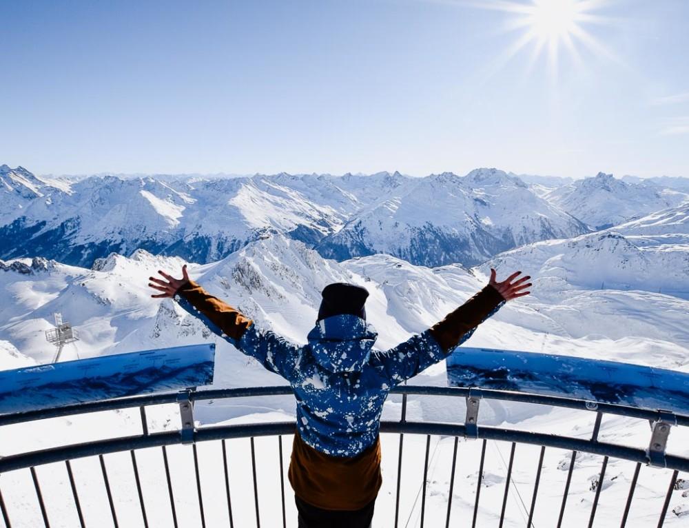 Skifahren in St. Anton am Arlberg  «oder: Willkommen im besten Skigebiet Österreichs»