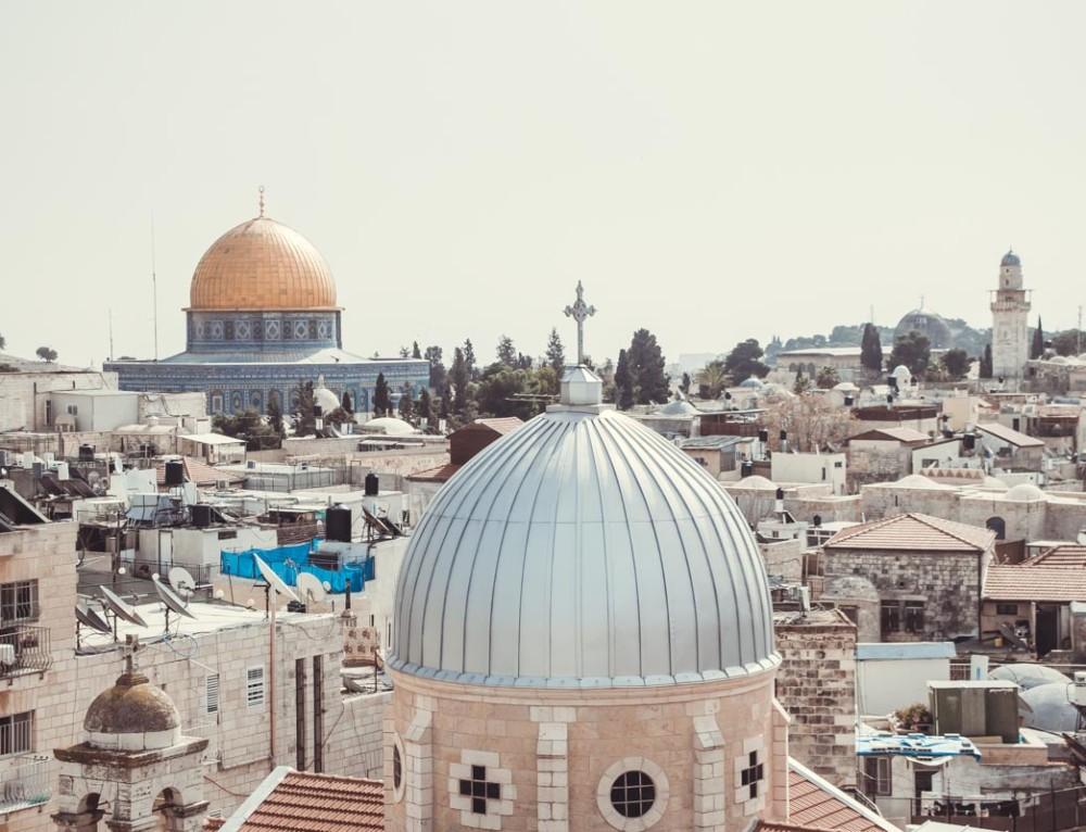 Mit dem Mietwagen nach Jerusalem  «oder: Ein Tag in der Heiligen Stadt»