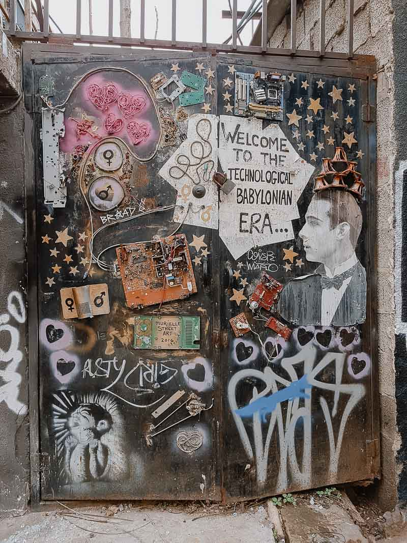 Israel - Tel Aviv Streetart