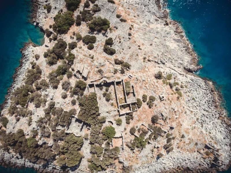 Türkei Drohne Segeln