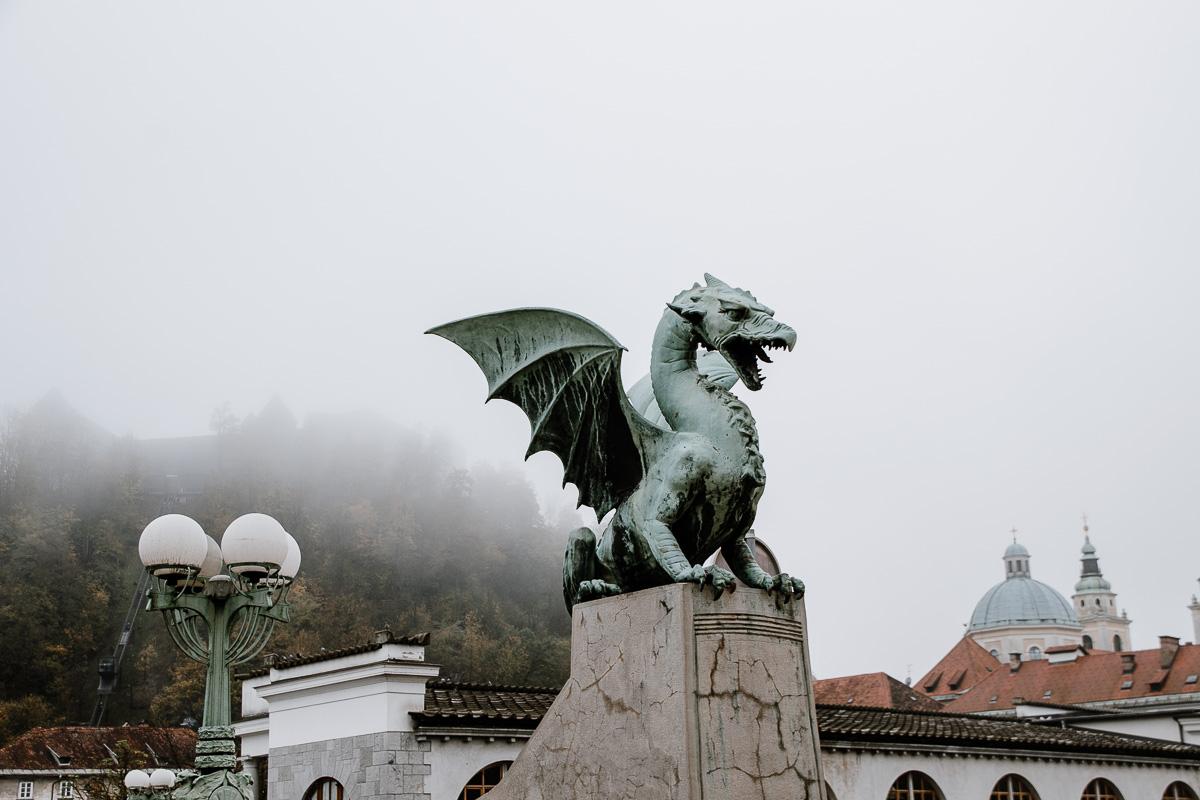 Ljubljana Drachenbrücke