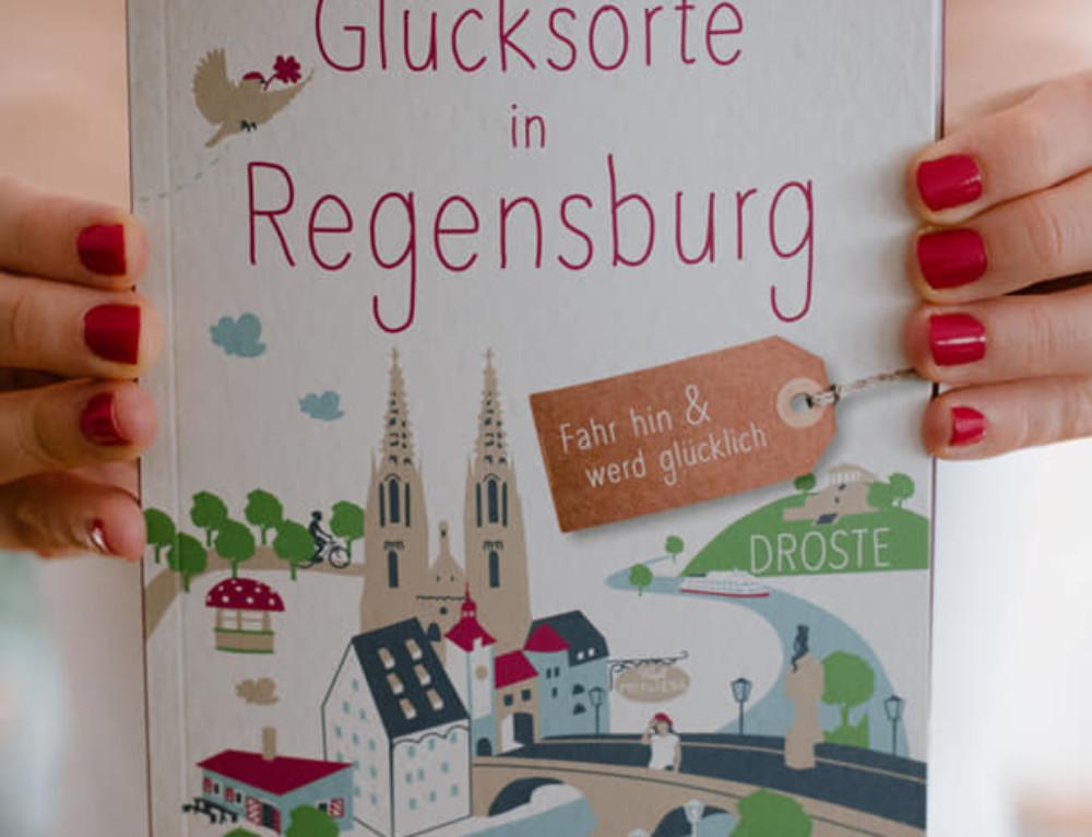 Glücksorte in Regensburg  «oder: wie wir unser aller erstes Buch geschrieben haben»