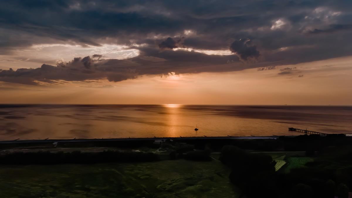 Sonnenuntergang Fischland