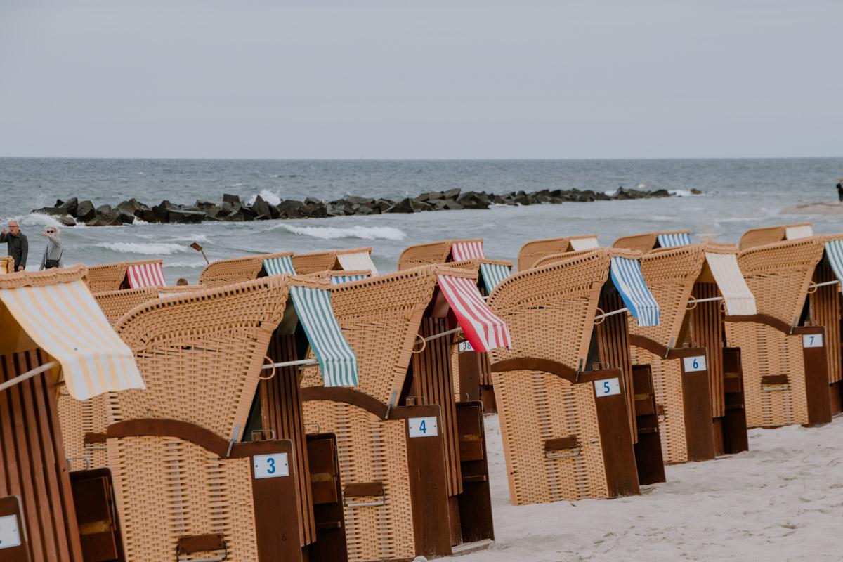 Strandkörbe Wustrow