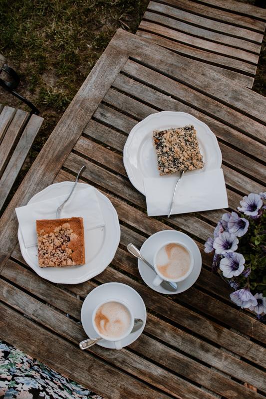 Kuchen in der Kaffeemühle Ahrenshoop auf Fischland