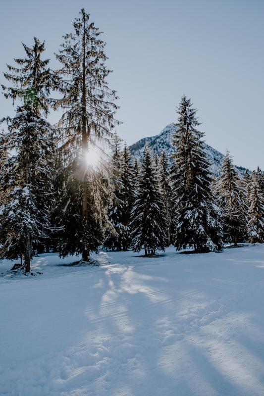 Winterwanderung Achensee