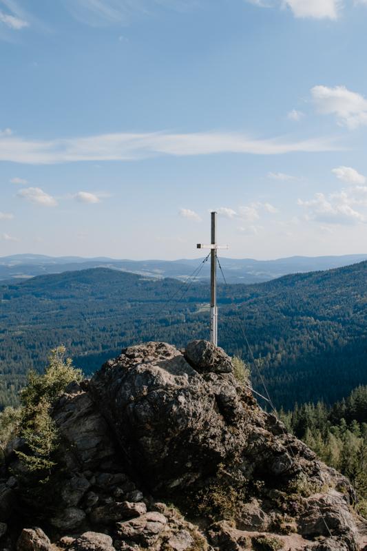 Gipfelkreuz Silberberg