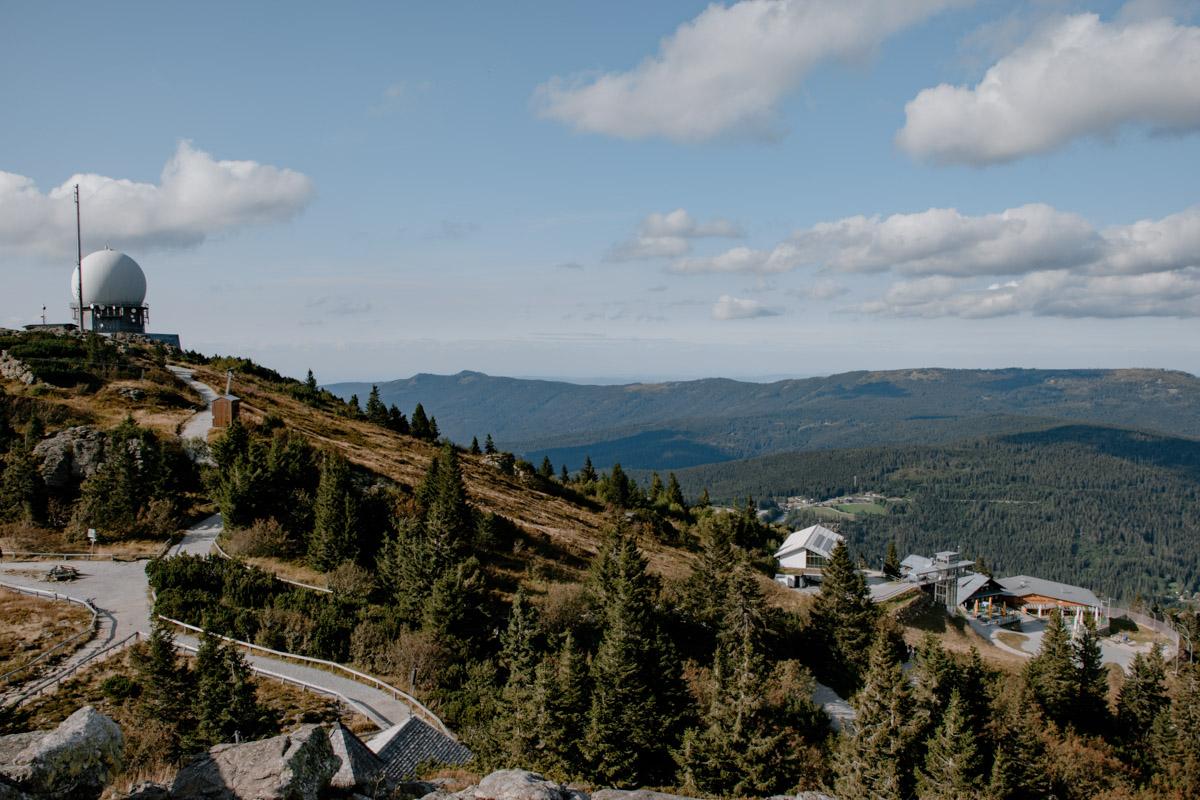 Blick auf den Bayerischen Wald